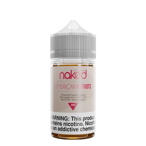 American Patriots - Naked 100 Tobacco E-Liquid 60ml - All Puffs