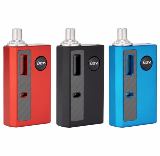 iJoy Mercury 1100mAh Pod System Starter Kit - All Puffs