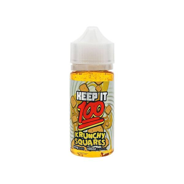 Krunchy Squares - Keep It 100 E-juice (100ml) - All Puffs