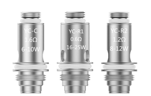 VooPoo YC Replacement Coils - 5PK - All Puffs