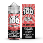 Strawberry Milk - Berry Au Lait - Keep It 100 E-juice (100ml) - All Puffs