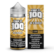 Krunchy Squares - OG Krunch - Keep It 100 E-juice (100ml) - All Puffs