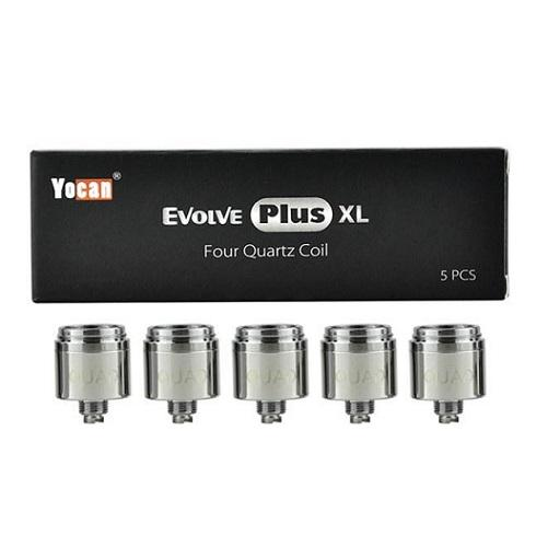 Yocan Evolve Plus XL Coils - 5PK - All Puffs