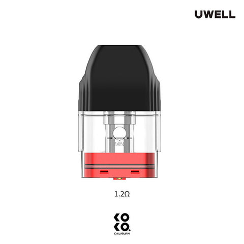Uwell Caliburn Koko 2ML Refillable Replacement Pod - Pack of 4 - All Puffs