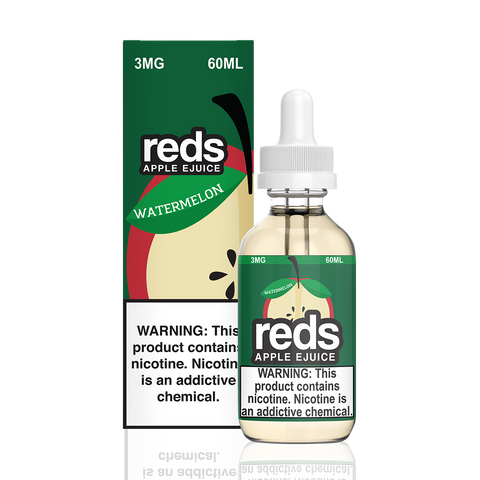 Reds Watermelon Apple Juice E-Liquid by 7 Daze - All Puffs