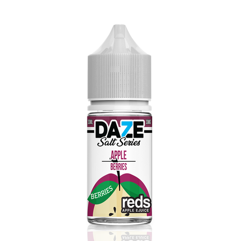 Apple Berries - 7 Daze Reds Salt Series Salt Nicotine - All Puffs