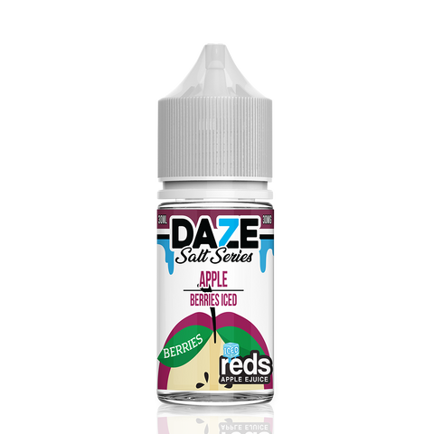 Apple Berries Iced - 7 Daze Reds Salt Series Salt Nicotine - All Puffs