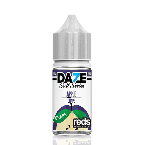 Apple Grape - 7 Daze Reds Salt Series Salt Nicotine - All Puffs