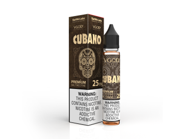 Cubano by VGOD Salt E-Liquid 30ML - All Puffs