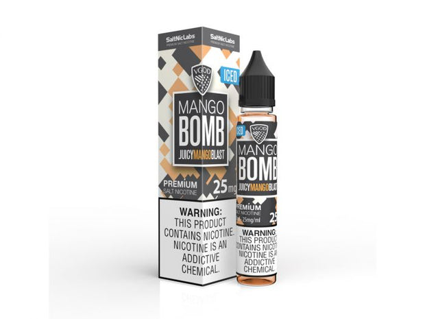 ICED Mango Bomb by VGOD Salt E-Liquid 30ML - All Puffs