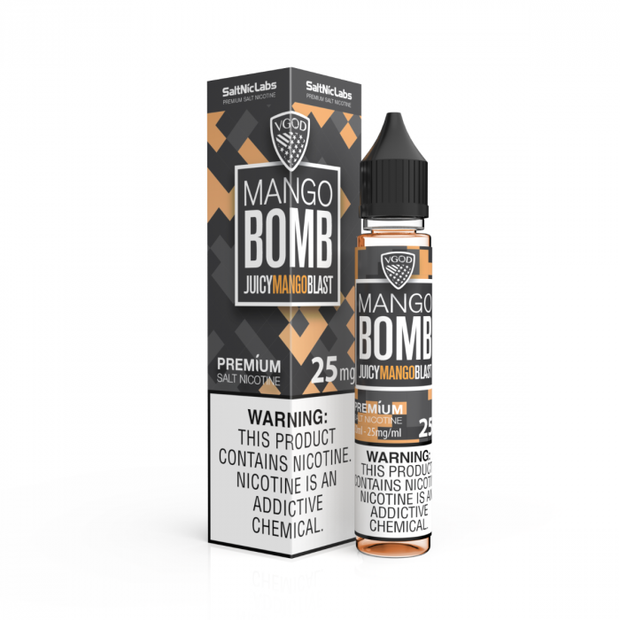 Mango Bomb by VGOD Salt E-Liquid 30ML - All Puffs