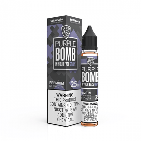 Purple Bomb by VGOD Salt E-Liquid 30ML - All Puffs