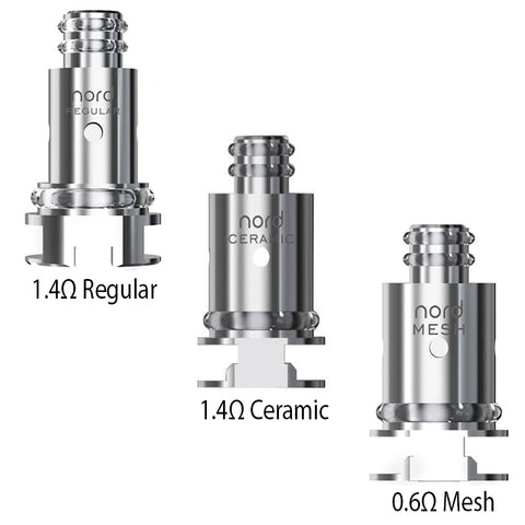 SMOK Nord Replacement Coils - 5 Pack - All Puffs
