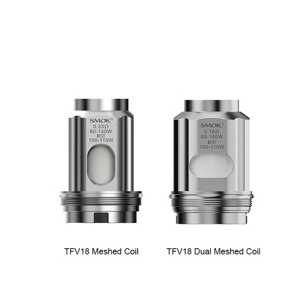 SMOK TFV18 Replacement Coils - All Puffs