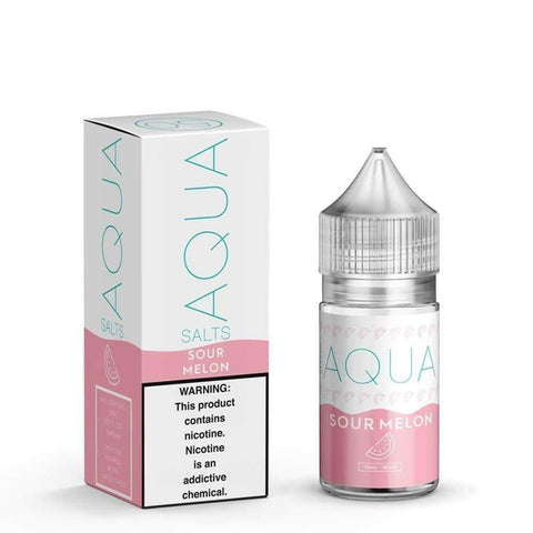 Swell / Sour Melon Aqua Salts Nicotine Salt E Liquid 30ml - All Puffs