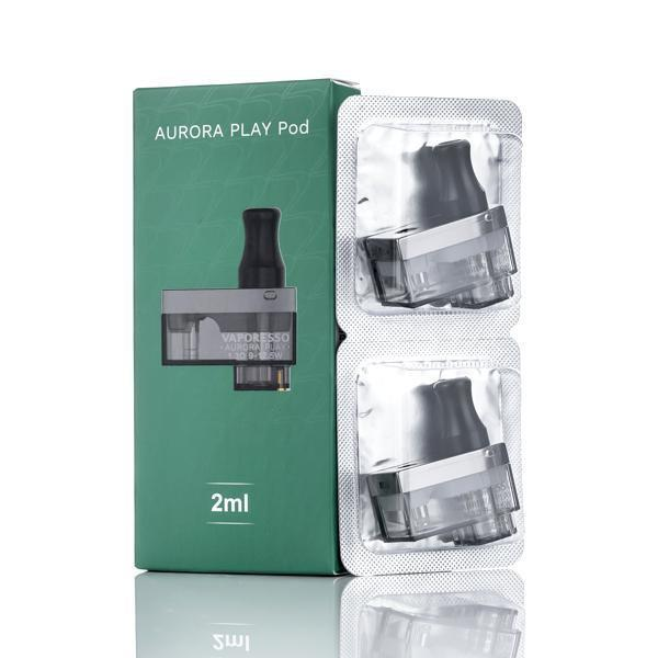 Vaporesso Click Aurora Play Replacement Pod 2 pack - All Puffs