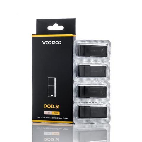 VooPoo Pod Refillable Replacement Pod - 4PK