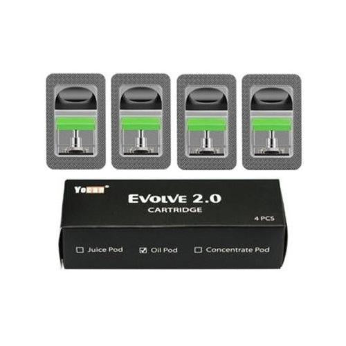 Yocan Evolve 2.0 Replacement Pods - 4PK - All Puffs