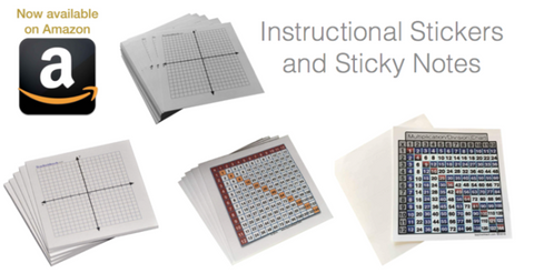 Instructional Sticky Notes and Stickers