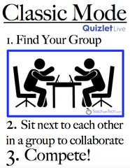 Quizlet Live in the Classroom and the Four Best Modes of
