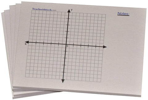 Sticky Note Mini Graph Pads With Note Section 4 IN x 3 IN