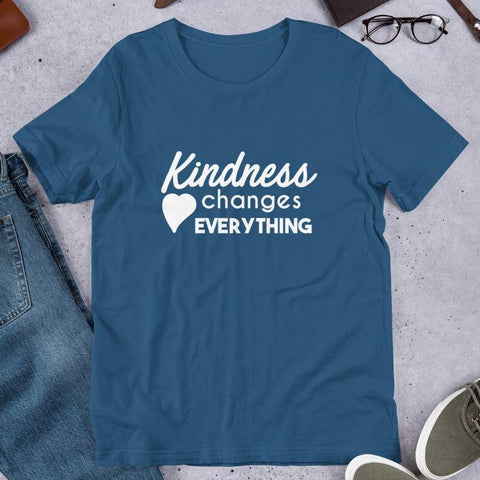 Kindness Changes Everything Teacher Tee