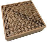 Multiplication Table Stamp