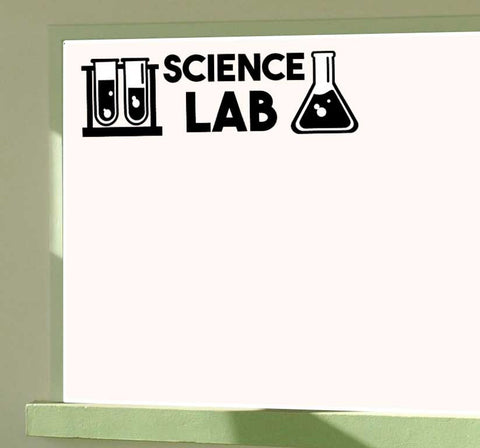 Science Lab Vinyl Wall Decal Classroom Decal Sticker Science Classroom