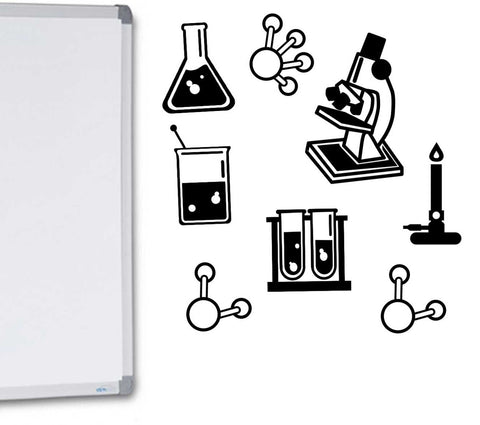 Science Bundle Vinyl Wall Decal Classroom or Bedroom