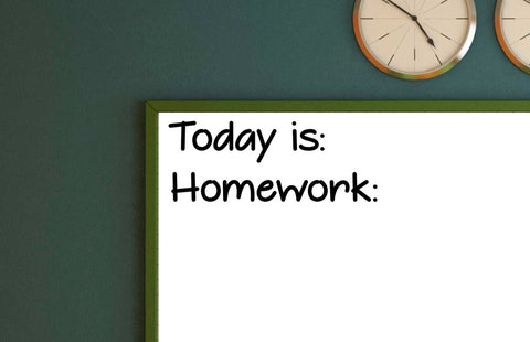 Today is and Homework bundle Vinyl Decal Classroom Decal Teacher