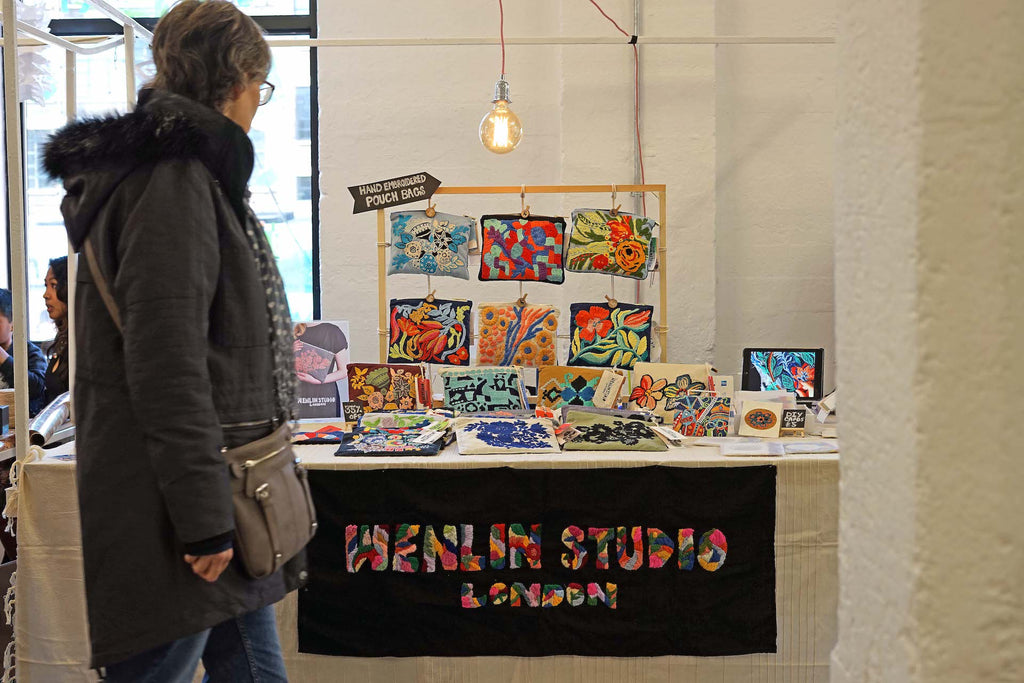 Christmas Festivities: Wenlin Studio at Renegade London