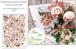 Pannello P-034 Decorazioni Country