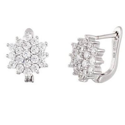 Sterling Silver Dress Earring