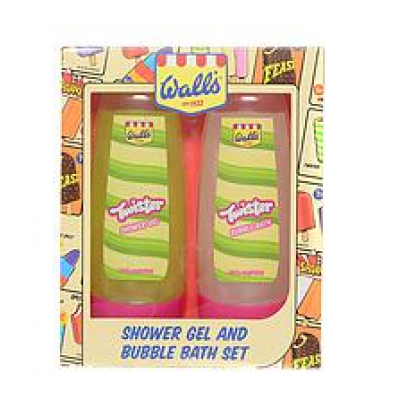 Walls Shower Gel & Bubble Bath Set