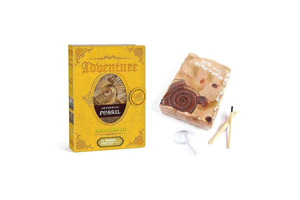 Kaper Kidz Adventure Authentic Fossil Excavation Kit