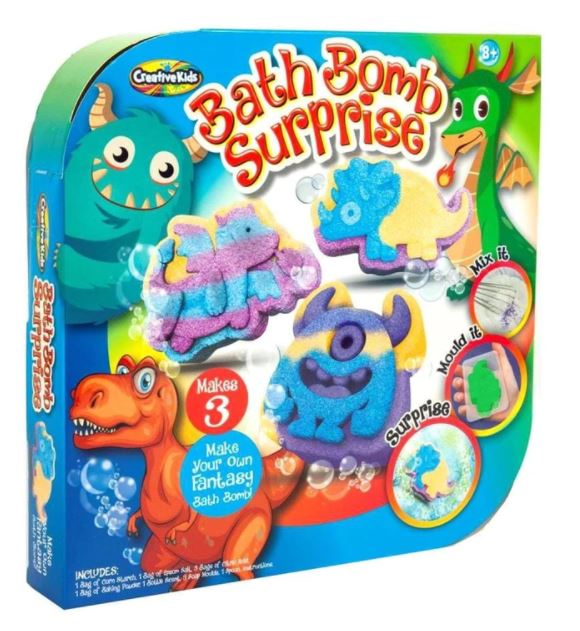 Creative Kids Bath Bomb Surprise Creatures