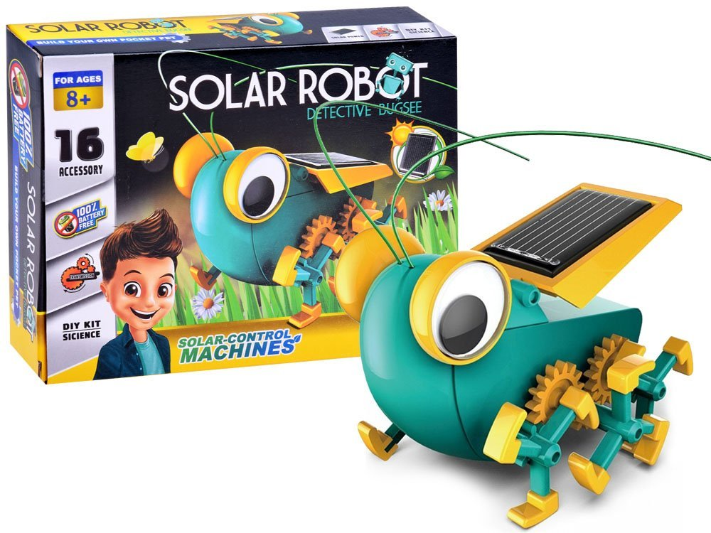 Solar Robot Detective Bugsee
