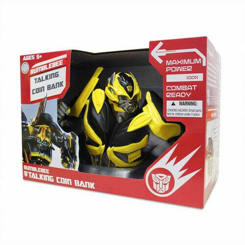 Transformers Bumblebee Talking Coin Bank