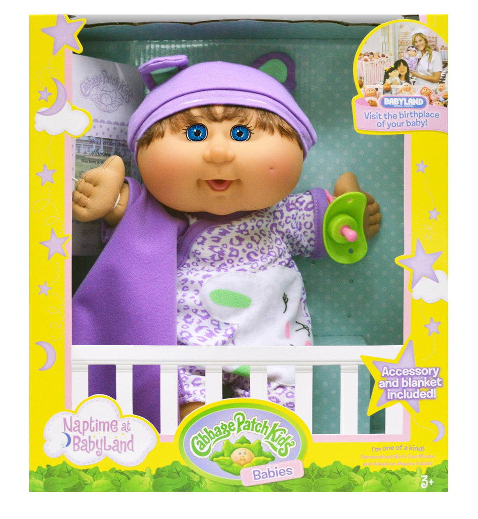 Cabbage Patch Kids Babies Naptime at Babyland