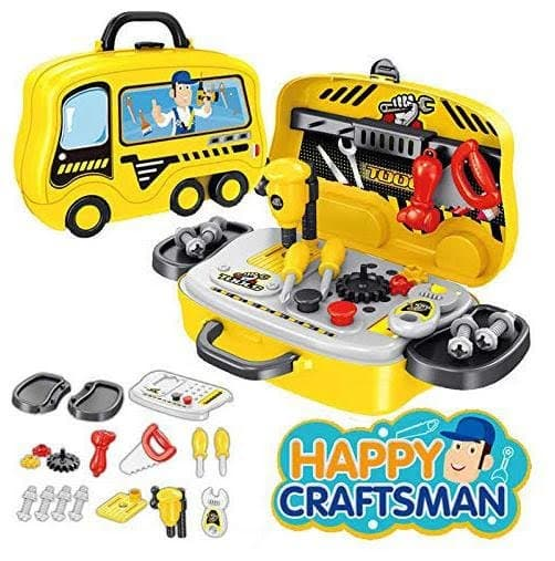 Happy Craftsman Sliding Suitcase - Tools