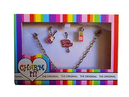 Charm It Rock N Roll Bracelet Gift Set