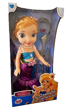 Fairytale Princess La Sirenetta Doll