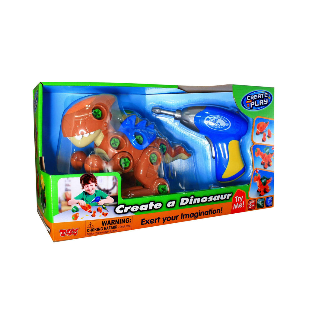 Create And Play Create A Dinosaur T-Rex