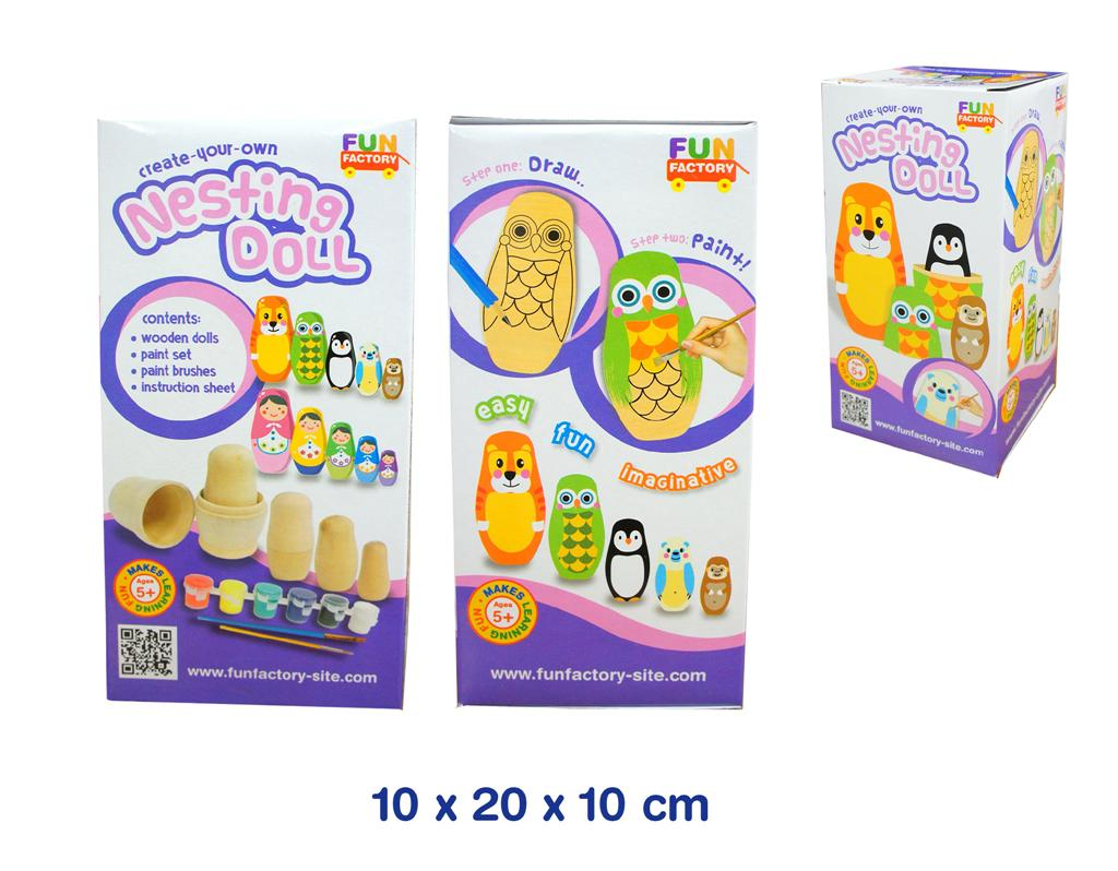 Fun Factory Create-Your-Own Nesting Doll