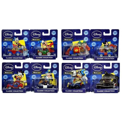 Disney Motorama Classic Collection Mini Die Cast Cars