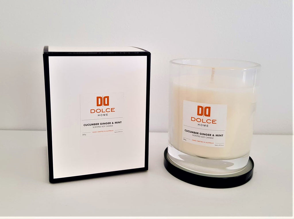 Dolce Home Scented Soy Candle