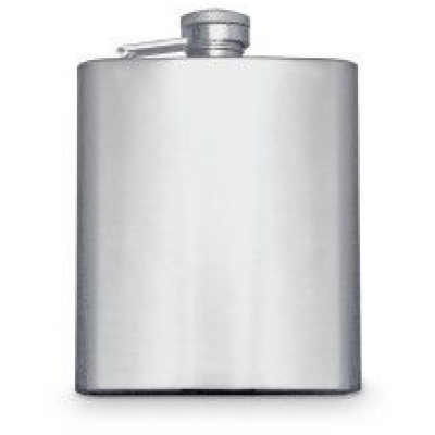 Stainless Steel Matte Hip Flask