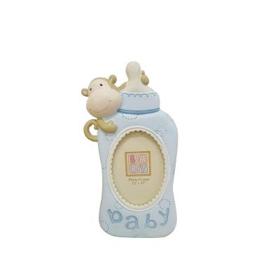 Baby Boy Bottle Photo Frame
