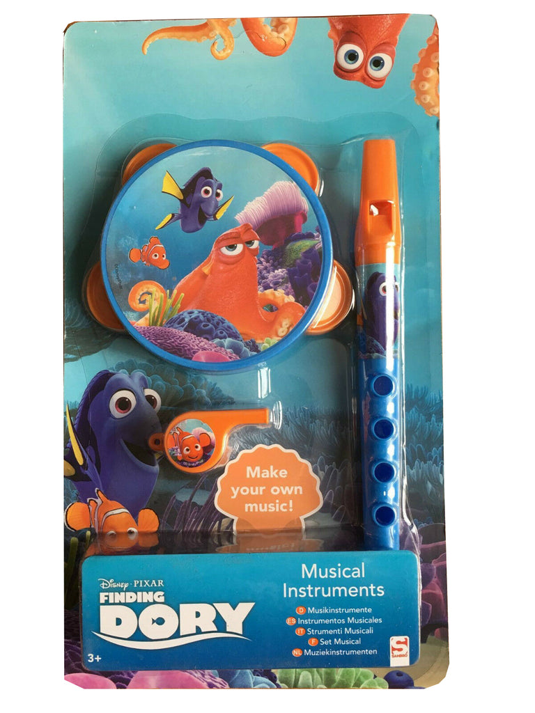 Disney Pixar Finding Dory Musical Instruments