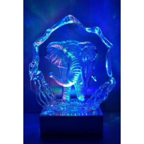 Elephant Iceberg Crystal Light